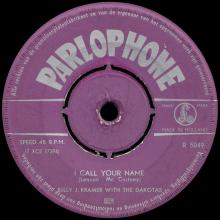 BILLY J. KRAMER WITH THE DAKOTAS - BAD TO ME ⁄ I CALL YOUR NAME - R 5049 - HOLLAND - pic 5