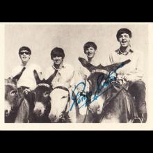 1963 THE BEATLES PHOTO - CHROMO - UK - A. & B. C.CHEWING GUM LTD No 008 - 014 IN A SERIES OF 60 PHOTOS -TRADING CARDS - pic 1