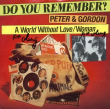 PETER AND GORDON - A WORLD WITHOUT LOVE - WOMAN - HOLLAND - 1A 006-07025 -1977 - pic 1
