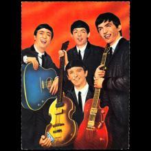1964 THE BEATLES PHOTO - POSTCARD GERMANY - A - B - pic 1