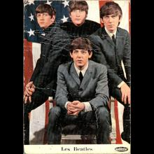 1964 THE BEATLES PHOTO - POSTCARD BELGIUM - CHROMO SAMO CHIPS - PUBLISTAR - 7X10 - pic 1
