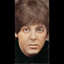 1964 THE BEATLES PHOTO - POSTCARD BELGIUM - CHROMO VICTORIA 04 PAUL MCCARTNEY - 8X14,5 - pic 1