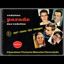 1964 THE BEATLES PHOTO - POSTCARD BELGIUM - CHROMO VICTORIA THE BEATLES (1) - 4,3X6,5 - pic 1