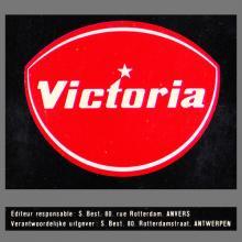1964 THE BEATLES PHOTO - POSTCARD BELGIUM - CHROMO VICTORIA THE BEATLES (2) - 4,3X6,5 - pic 1