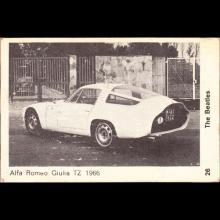 1964 THE BEATLES PHOTO - POSTCARD BELGIUM - CHROMO 26 - 9X6 - pic 1