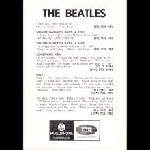 1964 THE BEATLES PHOTO - POSTCARD BELGIUM - THE BEATLES PARLOPHONE EMI - 10,3X15 - pic 1