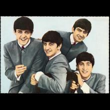 1964 THE BEATLES PHOTO - POSTCARD GERMANY - H 107 - HD 107 - pic 1