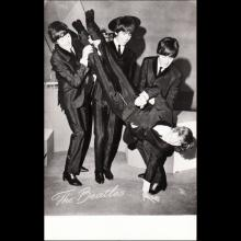1964 THE BEATLES PHOTO - POSTCARD HOLLAND - DRUK T STICHT UTRECHT - AX 5782 - 14,2X9,2 - pic 1