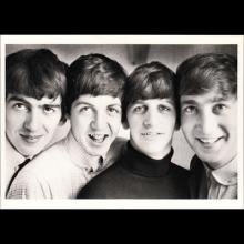 1964 THE BEATLES PHOTO - POSTCARD USA - APPLE 1989 - CLASSICO 270-004 THE BEATLES - 15,3X10,5 - pic 1