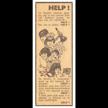 BELGIUM 1965 HELP ! - CINEMA ADVERT - pic 1