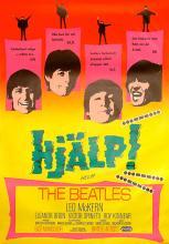 SWEDEN 1965 HELP ! - HJÄLP - MOVIEPOSTER 100 X 70 - pic 1