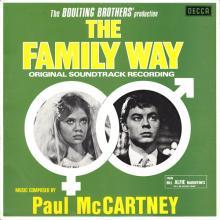 1967 01 06 PAUL McCARTNEY - THE FAMILY WAY ORIGINAL SOUNDTRACK RECORDING - SKLK 4847 - DECCA - 1980 AUSTRALIA - pic 1