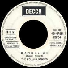 THE ROLLING STONES - WE LOVE YOU - ITALY - DECCA - F ⁄ JB 12654 - JUKE-BOX - pic 1
