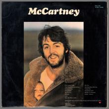 1970 04 17 PAUL McCARTNEY - McCARTNEY - PPCS 7102 - 1E 062 o 04394 - UK ⁄ POTUGAL EXPORT - pic 1