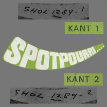 """HOLLAND 1972 00 00 SPOTPOURRI .... - THE BEATLES 10 SECONDS FROM """" LOVE ME DO """" - KASTELEIN RECORDS - SONOPRESSE - PROMO - pic 1"""