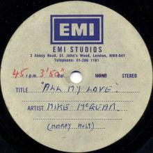 1974uk -All My Love (loving) - McGear - pic 1