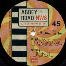 1979 06 01 - WINGS - OLD SIAM SIR - ABBEY ROAD EMI ACETATE - pic 1