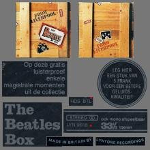 be fl b 1980 Promo Flexi Record For - The Beatles Box - Made In England By Lyntone Flemish Text LYN 9658 HDS BTL  - pic 1