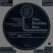 be fl c 1980 Promo Flexi Record For - The Beatles Box - Made In England By Lyntone Flemish Text LYN 10273 HDS BTL 82  - pic 1