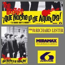 SPAIN 1984 A HARD DAY'S NIGHT - QUE NOCHE LA DE AQUEL DIA - MOVIEPOSTER FILMPOSTER LOBBYCARD - A - 33 X 23 - pic 1