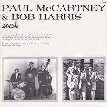 1983 00 00 - PAUL McCARTNEY RADIO SHOW - PAUL McCARTNEY AND BOB HARRIS SPEAK - BH 1 - pic 1
