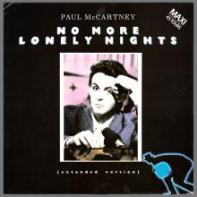 FRANCE 1984 09 24 PAUL McCARTNEY NO MORE LONELY NIGHTS - 1549386 - 5 099915 493866 - 3 TR TEST PRESSING - pic 1