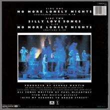 FRANCE 1984 09 24 PAUL McCARTNEY NO MORE LONELY NIGHTS - 1549386 - 5 099915 493866 - 3 TR TEST PRESSING - pic 5
