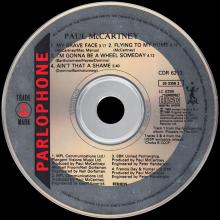1989 05 08 MY BRAVE FACE - PAUL McCARTNEY DISCOGRAPHY - CDR 6213 - 9 099920 335823 - UK - pic 1