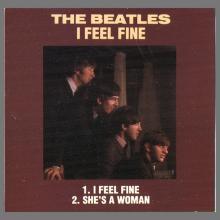 "1989 00 UK-Austria The Beatles CD Singles Collection CDBSC 1 ⁄ 3""CD - CD3R 5200 - CD3R 5265 - CD3R 5305 - pic 1"