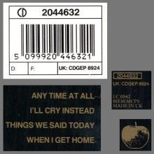 "1992 07 08 09 UK The Beatles Compact Discc EP.Collection CD BEP 14 ⁄ 5""CD - CDGEP 8924 - CDGEP 8931 - CDGEP 8938 - pic 1"