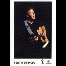 2001 Drining Rain - Paul McCartney - Press kit  - pic 1