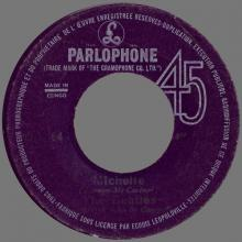BEATLES DISCOGRAPHY CONGO - 1966 02 00 - DP 564 - MICHELLE / DRIVE MY CAR - pic 1