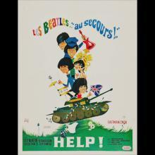 BELGIUM 1965 HELP ! - AU SECOURS ! - MOVIEPOSTER FILMPOSTER - pic 1