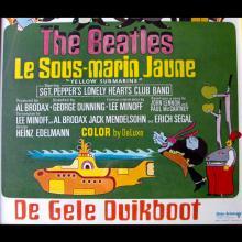 BELGIUM 1968 YELLOW SUBMARINE ⁄ DE GELE DUIKBOOT - BEATLES MOVIEPOSTER FILMPOSTER - pic 1