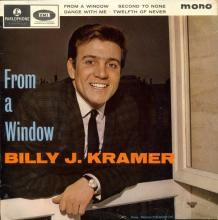 BILLY J. KRAMER WITH THE DAKOTAS - FROM A WINDOW - GEP 8921 - UK - EP - pic 1