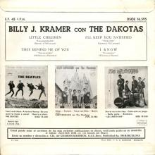 BILLY J. KRAMER WITH THE DAKOTAS - I'LL KEEP YOU SATISFIED - DSOE 16.595 - SPAIN - EP - pic 1