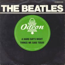A HARD DAY'S NIGHT - THINGS WE SAID TODAY - 1976 / 1987 - 1 C 006-04 466 - 1 - SLEEVES - pic 1