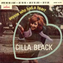 CILLA BLACK - LOVE OF THE LOVED - SPAIN - DSOE 16.592 - A - EP - pic 1
