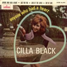 CILLA BLACK - LOVE OF THE LOVED - SPAIN - DSOE 16.592 - B - EP - pic 1