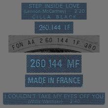 CILLA BLACK - STEP INSIDE LOVE - FRANCE - 260.144 MF - pic 1