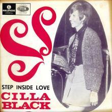 CILLA BLACK - STEP INSIDE LOVE - PORTUGAL - LMEP 1310 - EP - pic 1