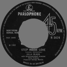CILLA BLACK - STEP INSIDE LOVE - SWEDEN - R 5674 - pic 1