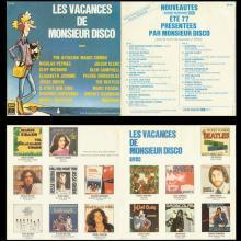 FRANCE - LES VACANCES DE MONSIEUR DISCO - 1977 00 00 - SP 557 - TICKET TO RIDE - PROMO - pic 1