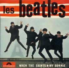FRANCE THE BEATLES EP POLYDOR - 1964 02 19 - LES BEATLES - POLYDOR 21914 Médium  - pic 1