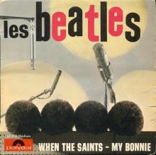 FRANCE THE BEATLES EP POLYDOR - 1964 03 00 - LES BEATLES - POLYDOR 21914 Médium - ORANGE STARS LABEL - pic 1
