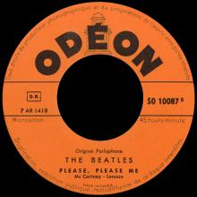 FRANCE THE BEATLES JUKE-BOX 45 - 1963 10 16 - B 2 - S0 10087 - FROM ME TO YOU ⁄ PLEASE PLEASE ME - pic 1
