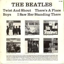GERMANY 1963 06 OO - THE BEATLES - SLEEVE 1 - LABEL 1 - O 41 560 - GEOW 1283 - pic 1