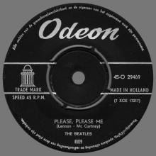 HOLLAND 014 - 1963 02 00 - LOVE ME DO ⁄ PLEASE, PLEASE ME - ODEON - 45-O 29469 - pic 1