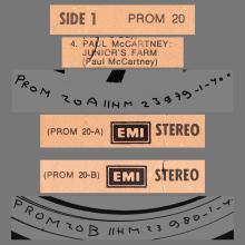 HOLLAND 1974 11 00 PAUL MCCARTNEY WINGS - PROM 20 - JUNIOR'S FARM - 12INCH PROMO - pic 1