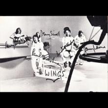 1972 PAUL McCARTNEY - POSTCARD UK - MPL 1972 - WINGS - EMI RECORDS - 15X10 - 14X9 - pic 1